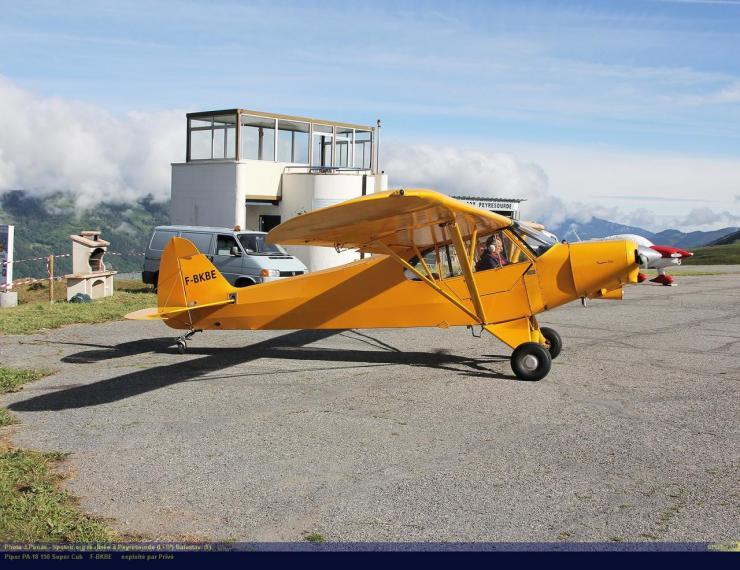 PA-18_F-BKBE_Peyresourde_(LFIP)-Balestas__(F)-24764-par-SpotAir