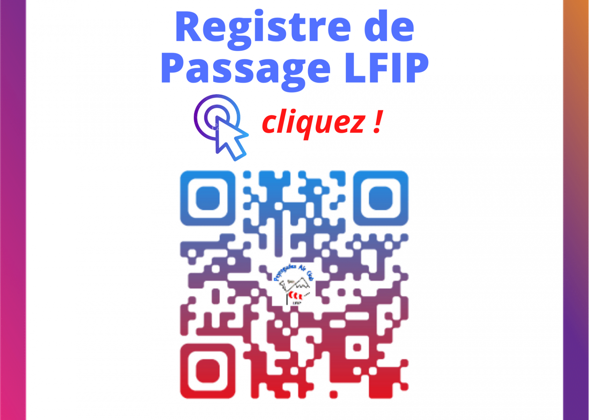 Registre Passage LFIP